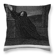Invocation To Melancholy Throw Pillow