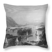 Ireland: Clew Bay, C1840 Throw Pillow