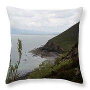 Ireland Coast I Throw Pillow
