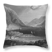 Ireland: Leenane, C1840 Throw Pillow