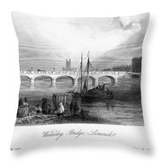 Ireland: Limerick, C1840 Throw Pillow