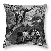 Ireland: Linen Manufacture Throw Pillow