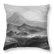 Ireland: Lough Conn, C1840 Throw Pillow