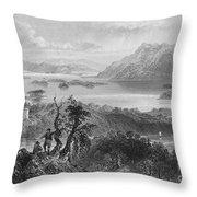 Ireland: Lough Gill, C1840 Throw Pillow