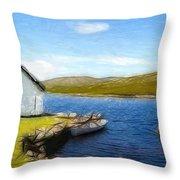 Irelands Beauty Throw Pillow