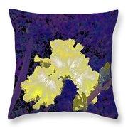 Iris 36 Throw Pillow