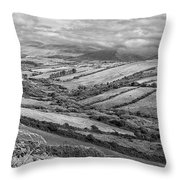 Irish Fields Throw Pillow