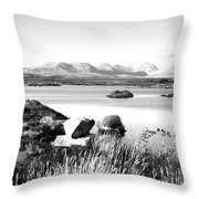 Irish Inland Sea Entrance Throw Pillow