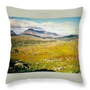 Irish Landscape 101 Throw Pillow