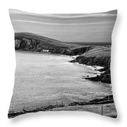 Irish Western Coast Throw Pillow