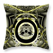 Iron Work Throw Pillow