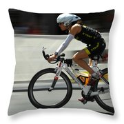 Ironman 2012 Flying By Throw Pillow