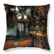 Ironmonger's Shop Throw Pillow