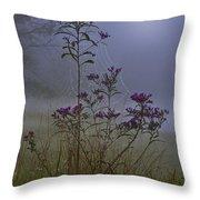 Ironweed Morning Throw Pillow