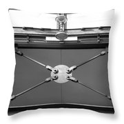 Ironworks In Black And White Throw Pillow