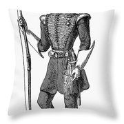 Irvine Toxophilite, 1846 Throw Pillow