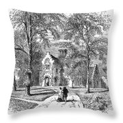 Irving: Sunnyside Throw Pillow