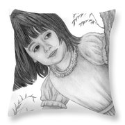 Is It Alice Throw Pillow