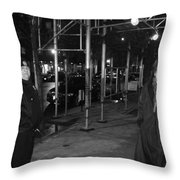 Is There A Problem Officer Throw Pillow