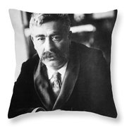 Isaac Loeb Peretz (1852-1915) Throw Pillow