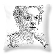 Isabel Florence Hapgood Throw Pillow