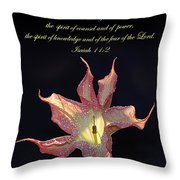Isaiah 11 2 Throw Pillow
