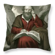 Isaiah, Old Testament Prophet Throw Pillow
