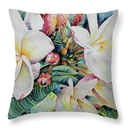 Islands Beauties Throw Pillow