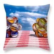 Isometric And Icosahedral Symmetry Throw Pillow