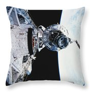 Iss Module Unity Throw Pillow