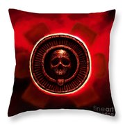 It Stares Back Throw Pillow