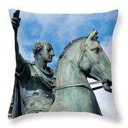 Italian Bronze Throw Pillow