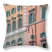 Italian Facade Throw Pillow