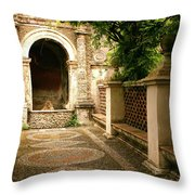 Italian Hideaway Throw Pillow