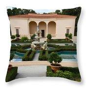 Italian Renaissance Garden Throw Pillow