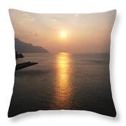 Italian Sunrise Throw Pillow