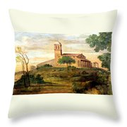 Italian Valley  Throw Pillow