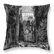 Italy: Tivoli Throw Pillow
