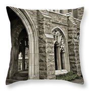 It's A Maze At Valley Forge Throw Pillow