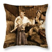 It's More Blessed To Give Throw Pillow