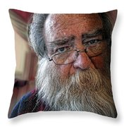 It's Never Nice To Be Me Throw Pillow