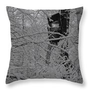 It's Not Camouflaged Anymore Throw Pillow