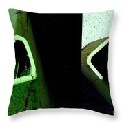It's Not Easy Bein' Green Throw Pillow