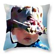 It's Not The Hat But How You Wear It Throw Pillow
