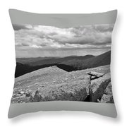 It's Raining In The Distance Throw Pillow