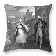 Ivanhoe, 1832 Throw Pillow