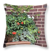 Ivy And Things Throw Pillow