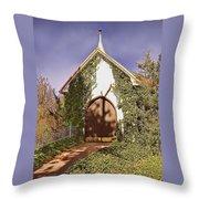 Ivy Church Throw Pillow