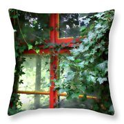 Ivy Embrace Throw Pillow