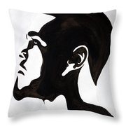 J. Cole Throw Pillow